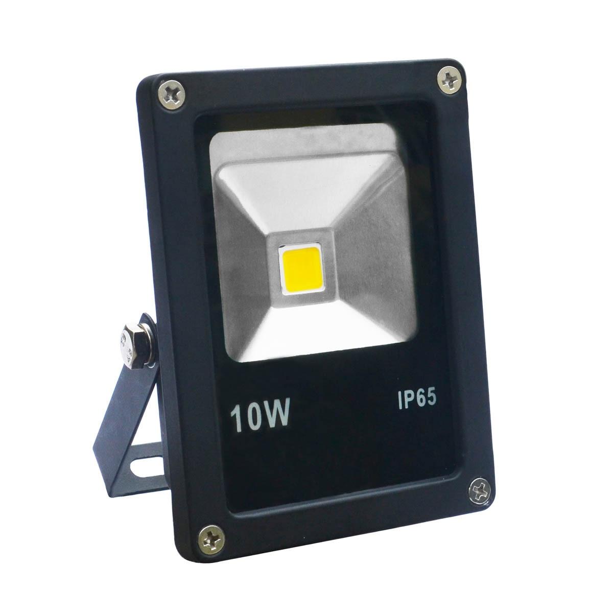 Jiawen 5pcs / lot 10W Cool Hvid eller Varm Hvid LED Flood Lights, Vandtæt IP65 til udendørs (AC85-265V)