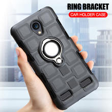 Cover For ZTE Blade L7 Silicone Shockproof Phone Case For ZTE Blade L7 Luxury Armor Anti-Fall Back Cover Ring Stand Hard Case l7 toronto