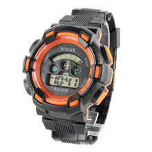 Electronic Digital LED Quartz Alarm Date Sport Wrist Watch Water Resistant Mens Watches