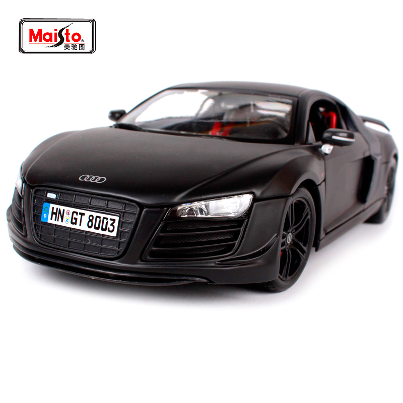 Maisto 1:18 Audi R8 Sports Car Diecast Model Car Toy New In Box Free Shipping 36190 maisto 1 18 mini cooper sun roof diecast model car toy new in box free shipping 31656