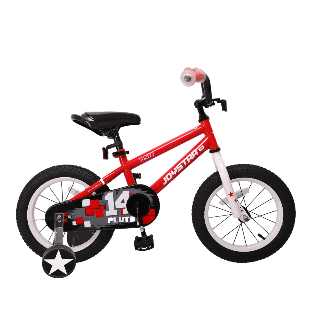 Joystar Boys' Bicycle 14 Inch Kids Bike With Training Wheel And Coast Break , 85% Assembled