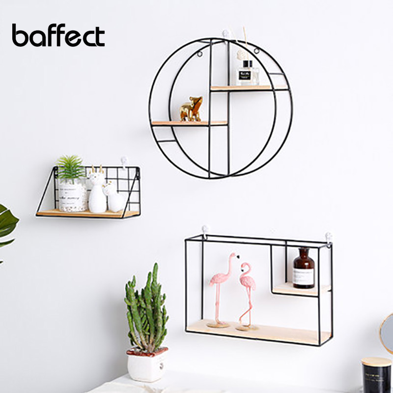 Creative restaurant porch room small ornaments creative living room rack Nordic style ins wall decoration hanging storage shelfCreative restaurant porch room small ornaments creative living room rack Nordic style ins wall decoration hanging storage shelf
