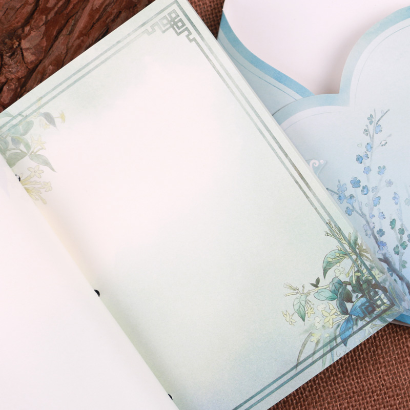 A Beauty Play Pipa Chinese Style Thread Stitching Notebook Retro ...