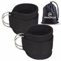 Эспандеры для фитнеса лодыжки ремни неопрена мягкие лодыжки манжеты для кабельных машин ноги тренажерный зал тренировки