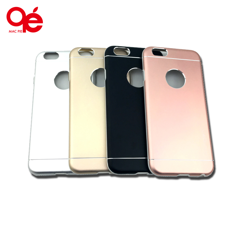 2016 New Arrival High Quality Fashion Deluxe Metal Aluminum Solid Color Hard Back Brush Case Cover for iPhone 5 5s SE 6 6s Plus