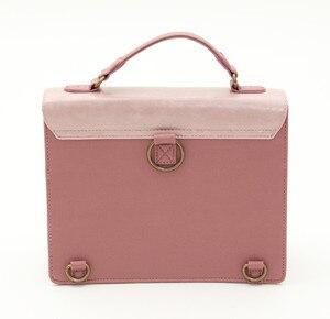Image 4 - Japan Bag Lolita Style Women Lady Alice Designer Embroidery Handbag Messenger Bag School Bag