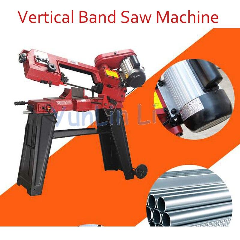 GFW5012 Faixa Vertical Viu Máquina de Metal Banda Máquina do Woodworking Serra de Metal/madeira Máquina de Serrar Banda Dupla Utilização 750 W