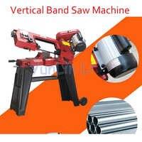 GFW5012 Vertikale Band Sah Maschine für Metall Holz Band Sah Maschine Metall/holz Band Sägen Maschine Doppel Verwenden 750 W
