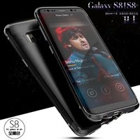 For Samsung Galaxy S8 Case Original Brand Aluminum Metal Frame PC Hard Armor Anti Knock Back