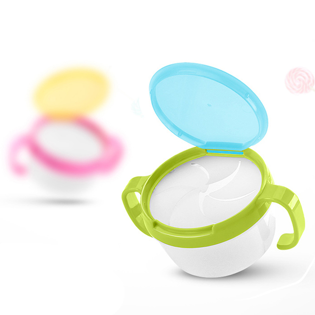 Snack Box Baby Food Box Portable Food Storage Fruit Candy Anti-sprinkling With Lid Food Supplement Bowl Tableware Food Container