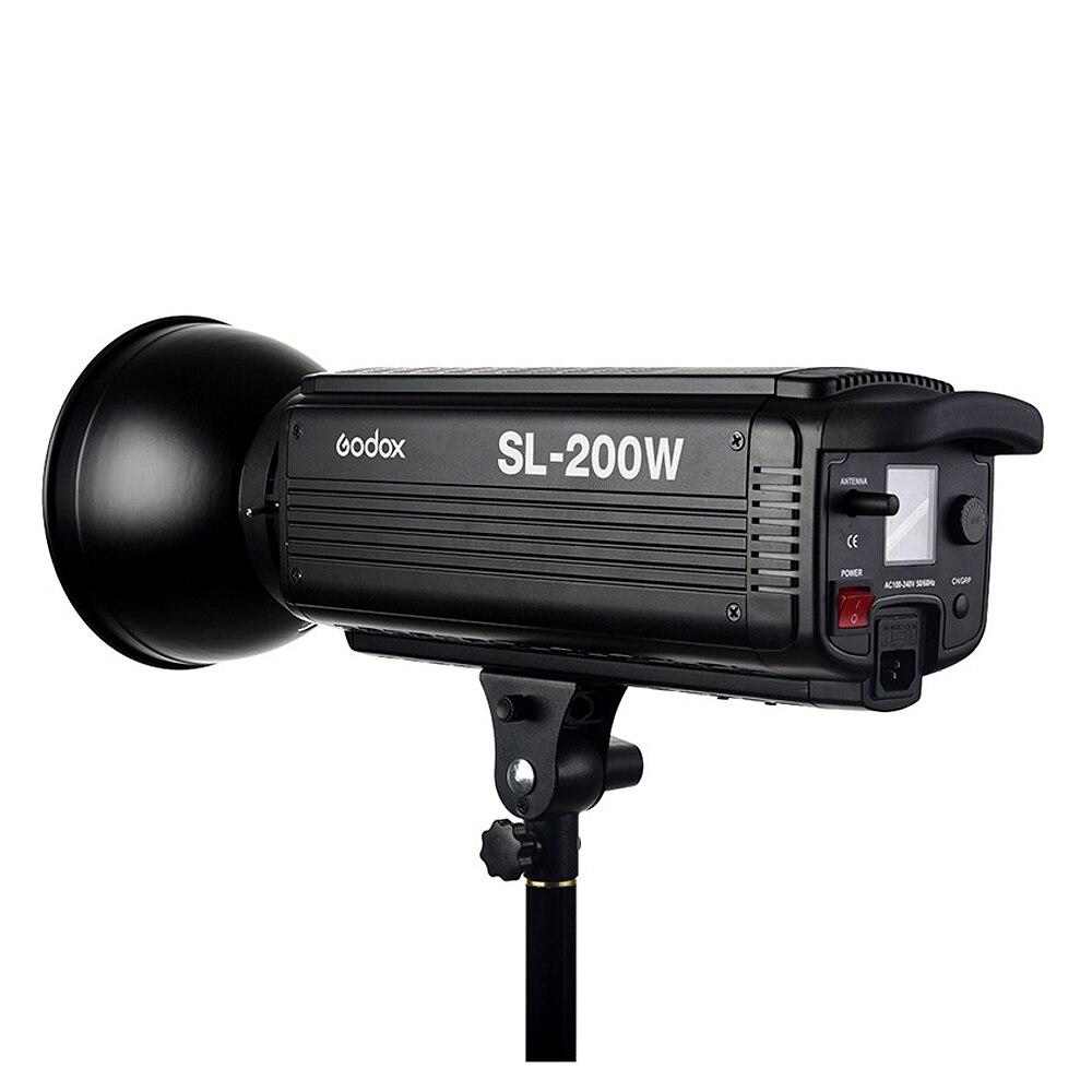 Godox SL-200W 200Ws 5600 k LCD Panneau Blanc LED Vidéo Lumière De Sortie Continue Bowens Mont photo Studio Éclairage lampe