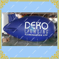 HOT Sell 4M/13ft Long Blue Inflatable Zeppelin/ Airship / Blimp for Advertising Events/ FREE SHIPPING