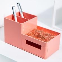 Карандаш Ящик Для Креативных Механизмах Многофункциональный Рабочий Стол Большие Емкость Ручка Для Студентов