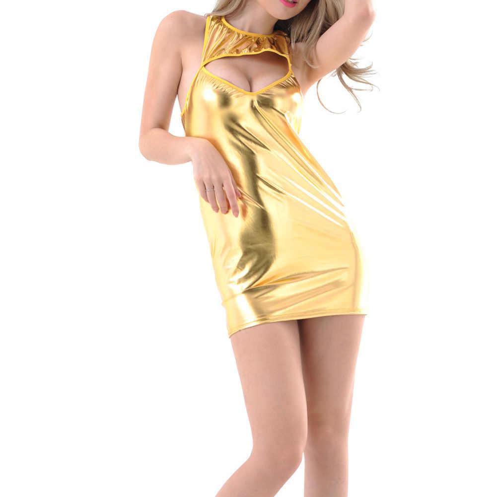 Сексуальное женское нижнее белье, популярное женское кожаное белье из искусственной кожи сексуальные куклы Эротическое нижнее белье, клубное мини-платье, костюмы, нижнее белье-45