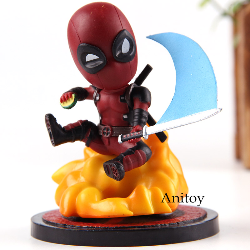 MEA-004 Marvel Comics Deadpool Mini Egg Attack Series Deadpool PVC Action Figure Collection Model Toys image