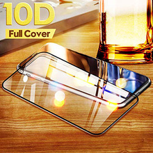 Oppselve Full Cover 10D Protective Glass For iPhone 6 6s S 8 7 Plus Tempered on X XS MAX XR Screen Protector Film