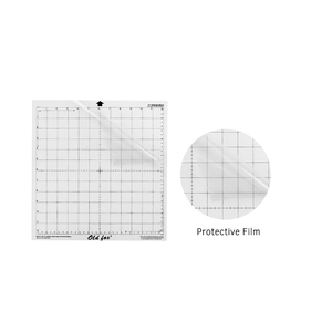 Image 4 - 5 個の交換カッティングマット透明粘着マット測定グリッド 12*12 インチシルエットカメオプロッタ機