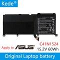 Kede 15 2 V 60Wh оригинальный C41N1524 Аккумулятор для ноутбука ASUS N501VW-2B C41N1524