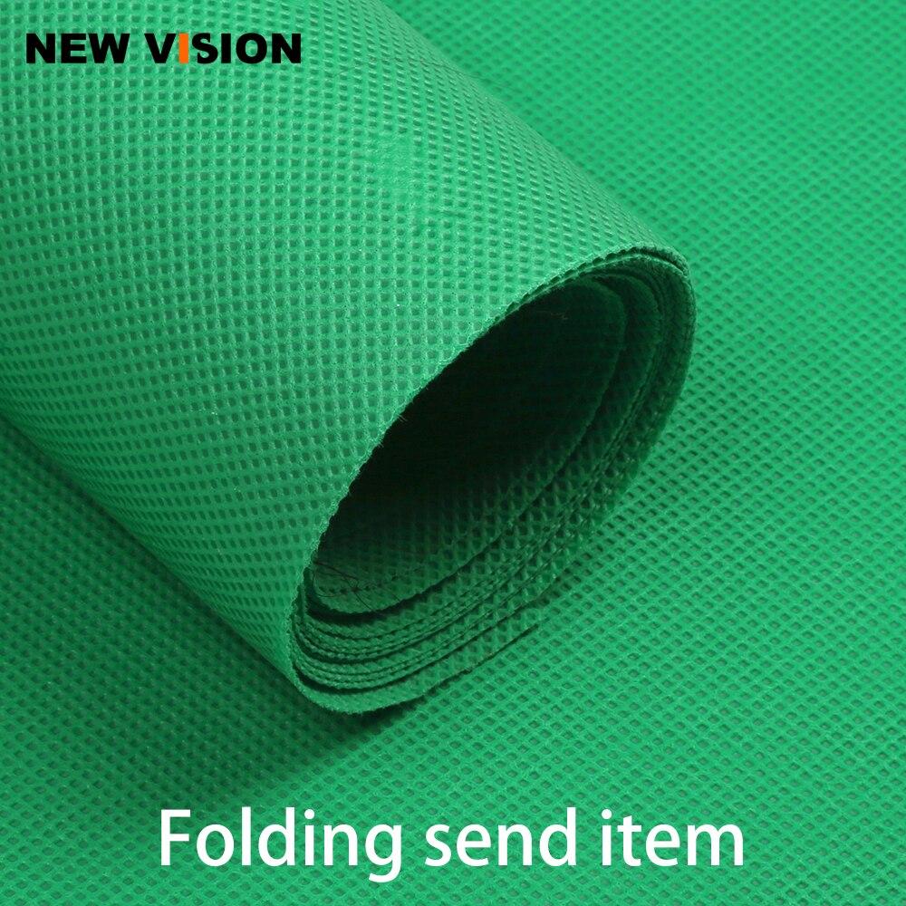 2x3M/3x3M/3x4M/3x5M/3x6M Photo Backdrop Background Screen Cloth Non-woven Fabric Green For Studio Photography Video Shooting