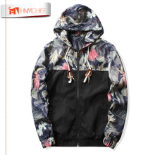HNMCHIEF Floral Bomber Jacket Men Hip Hop Slim Fit Flowers Pilot Bomber Jacket Coat Men's Hooded Causal Jackets Plus Size 4XL