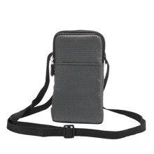 Outdoor Climbing Shoulder Zipper Belt Clip Mobile Phone Case Pouch For Cubot Note S/S550/S550 Pro/Dinosaur/Cheetah 2,UMi MaX