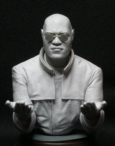 Assembly Unpainted Scale 1/10 SHIP COMMANDER - Fictional bust figure Historical Resin Model