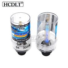 HCDLT Xenon 55 W H1 H7 H11 H3 HB3 HB4 D2S D4S 3000 K 6000 K 4300 K 5000 K 8000 K ESCONDEU Lâmpada Do Farol Dianteiro Para 35 W 55 W Xenon ESCONDEU Kit de Lastro