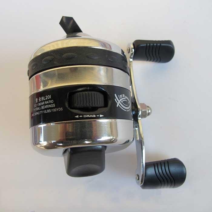 À bouton-poussoir Bobine BL201--2BB Intérieure Ligne De Pêche Moulinet Leurre Pesca Poissons Roue Scamper Deluxe Spincast Bobine