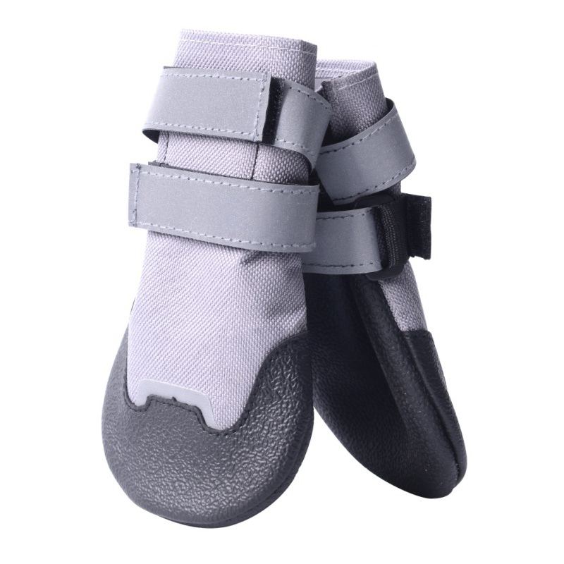 Pet Dog Cat Anti-slip Raining <font><b>Shoes</b></font> Boots Waterproof Rubber Puppy Footwear For Small Cats Dog Chihuahua Teddy Socks Pet Booties image