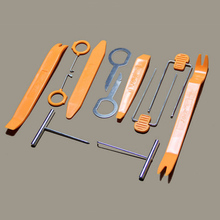 12 pcs/set Car Audio Door Panel Install Tool Moulding Trim Dash Stereo Remove Pry Tools urbanroad 20pcs vehicle car radio door panel removal realese stereo headunit audio keys navigation dash trim install tools kit