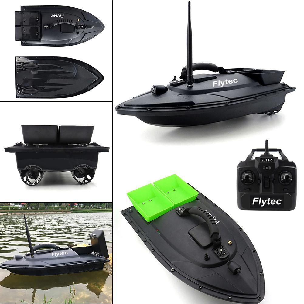 Outil de pêche Smart RC appât bateau jouets 2011-5 double moteur poisson Finder bateau bateau télécommande 500 m bateaux de pêche hors-bord
