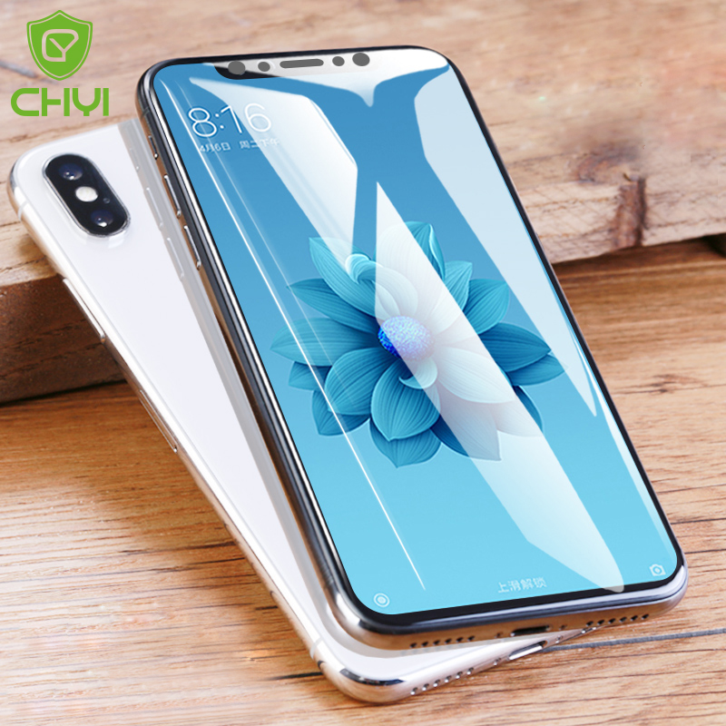 US $3 58 10% OFF|CHYI 3D Curved Film For Xiaomi Mi 8 lite pro Screen  Protector Mi 9 Mi8 se Full Cover Hydrogel Film With Tools Not Tempered  Glass-in