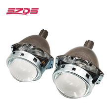 SZDS مصباح أمامي للسيارة 3.0 بوصة ثنائية جهاز عرض مزود بإضاءة زينون عدسة كويتو Q5 ضياع تركيب غير المدمرة التحديثية H1 H3 H4 H7 h11