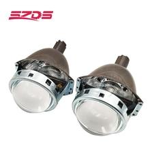 SZDS oto farı 3.0 inç Bi xenon Projektör Lens Koito Q5 Kayıpsız kurulum tahribatsız Güçlendirme H1 H3 H4 h7 H11