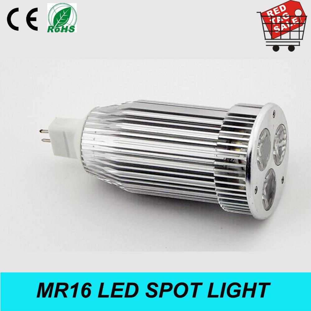 New MR16 LED Bulbs Home Depot 9W MR16 base 3*3W LED Bulb lamp spot ...