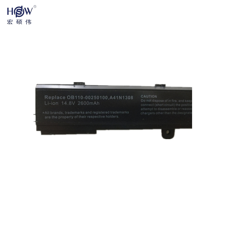 HSW Laptop Batterij Voor ASUS 0B110-00250100 A41N1308 A31N1319 X451 - Notebook accessoires - Foto 3