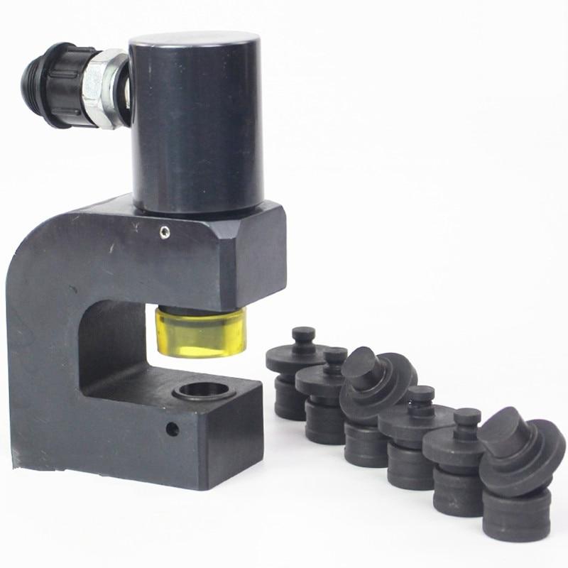 SYD 18 Портативный гидравлический угол железа Сталь Дырокол вниз инструменты 6,5 мм 18,5 мм