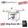 RC Plane 4 K Cámara Drone DJI Phantom 3 Profesional de Servicio el fantasma stock reino unido quadrocopter addtional 32 gb sd micro para envío