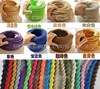 5Meteters LOT 2 X 0 75mm Variety Old Fashioned Twisted Wire And Cable Textile Cable Retro