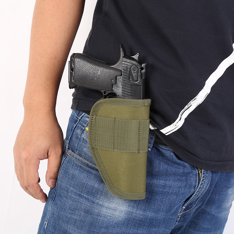 S M Size Concealed Belt Gun Holster Holster For All Compact Subcompact Pistols Black Hunting Accessories 2019
