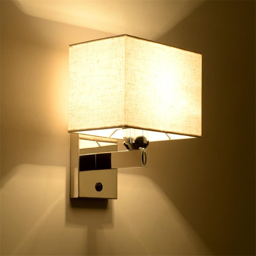 Online-Shop Moderne Wandleuchte LED Leselampe Wandleuchte Hostel ...