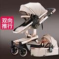Pequeno sol do bebê carrinho de criança de bebê do carro two-way luz carrinho de bebê dobrável