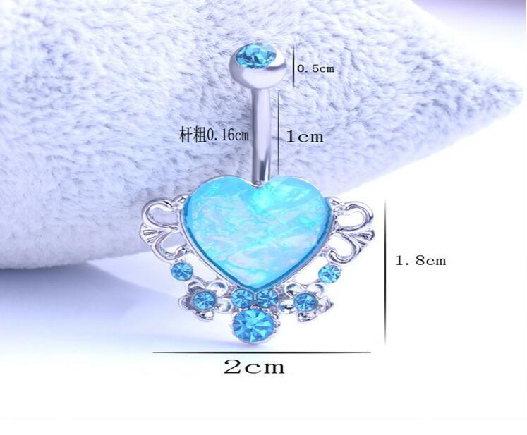 HTB1r7n.KpXXXXahXpXXq6xXFXXXO Exquisite Body Piercing Jewelry Party Navel Ring - 18 Styles