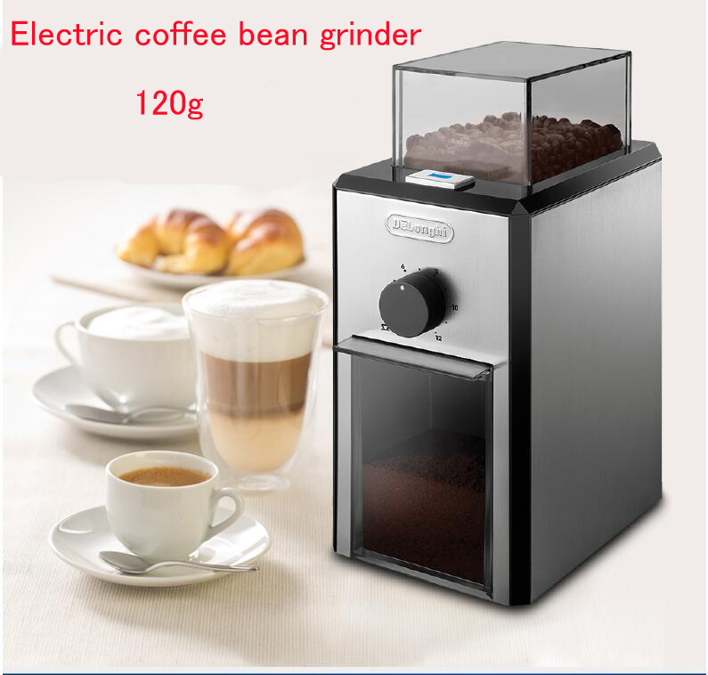 120g Electric Coffee Bean Grinder Stainless Steel Coffee Bean Grinding Machine Household Coffee Grinder  KG89 cukyi household electric multi function cooker 220v stainless steel colorful stew cook steam machine 5 in 1