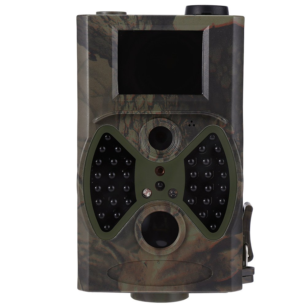 HC300A Hunting Camera Scouting 12MP HD 1080P Digital Infrared Wildlife 2.0 inch LCD Trail Camera camouflage camera hc 300a scouting hunting camera 12mp 1080p hd digital wildlife trail camera infrared photo traps for hunting