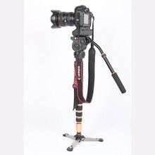 JIEYANG JY0506 Portable Carbon fiber Tripod JY0506C for Professional Camcorder/Video Camera/DSLR Tripod Stand