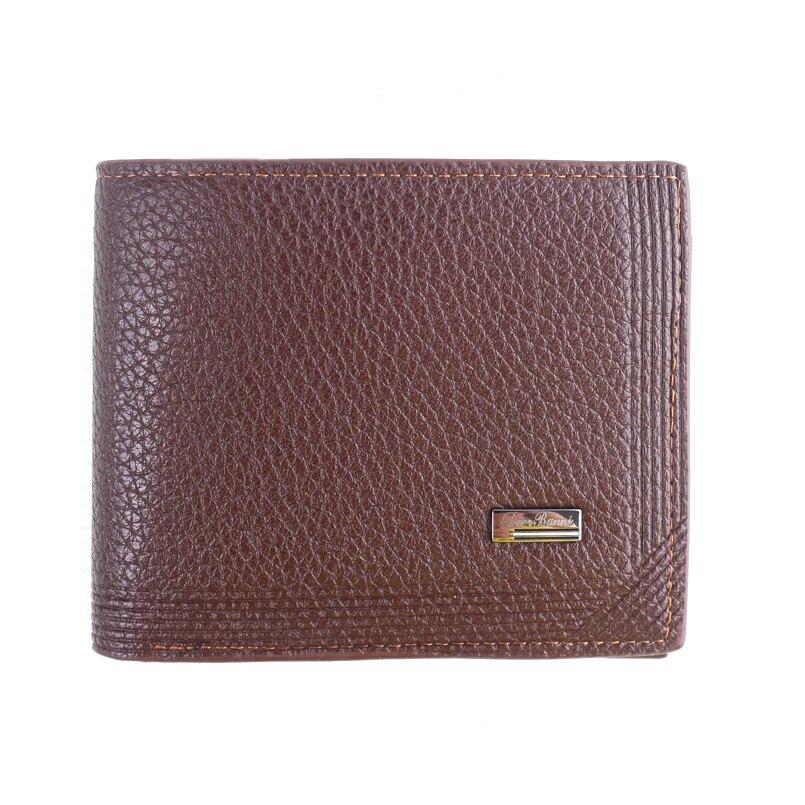 Brand Men Wallets Dollar Price Purse PU Leather Wallet Card Holder Luxury Designer Business Mini Wallet High Quality men vintage wallet pu leather dollar