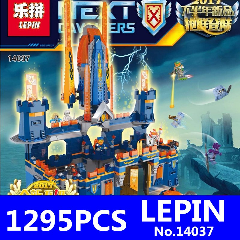 Second Half of the Latest Future Knights Building Blocks LEPIN 14037 1295Pcs Educational Bricks Kits Toy Model Toys for Children the future sound of london the future sound of london teachings from the electronic brain