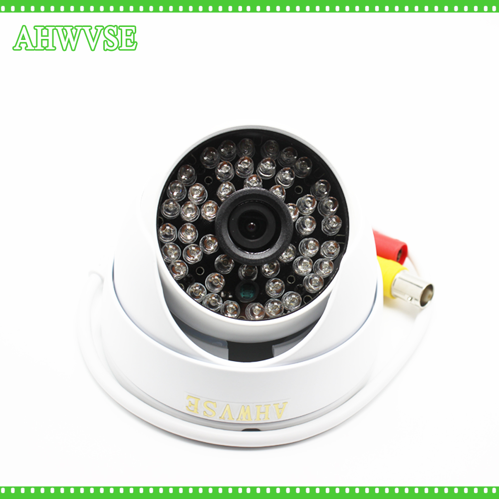 HD AHD CCTV 1080P 2MP Metal Dome Camera with 48PCS IR Leds Night Vision CCTV Security Surveillance