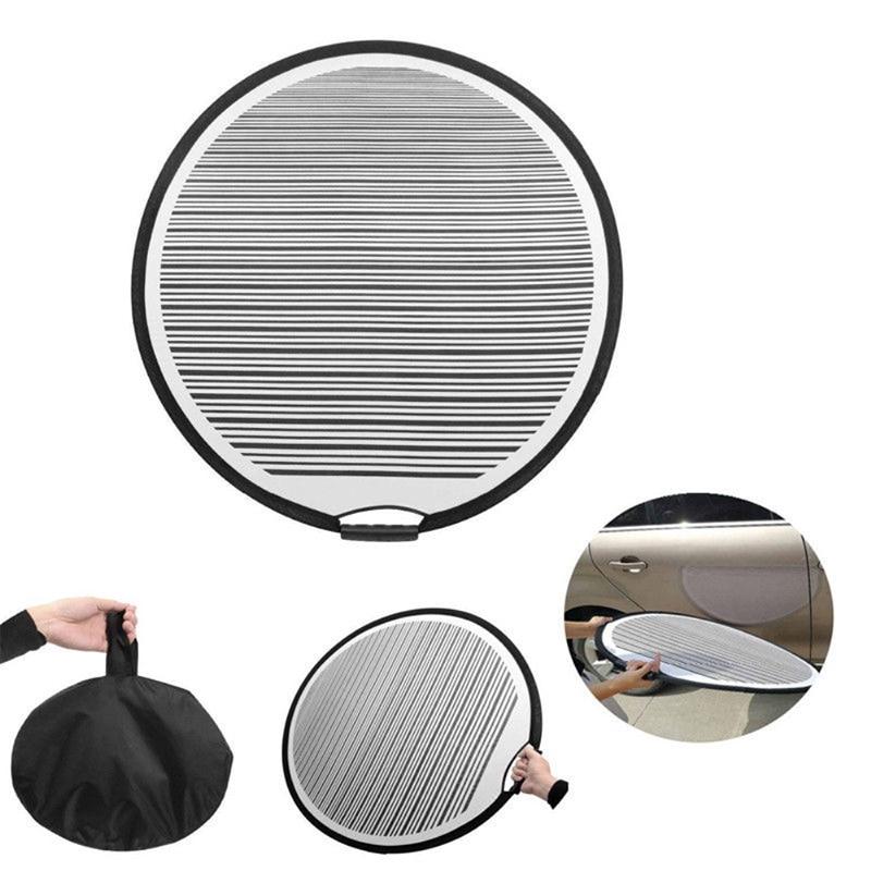 80 cm Matedepreso Shown Panel Reflector Plegable con Rayas para Coche Tama/ño Libre